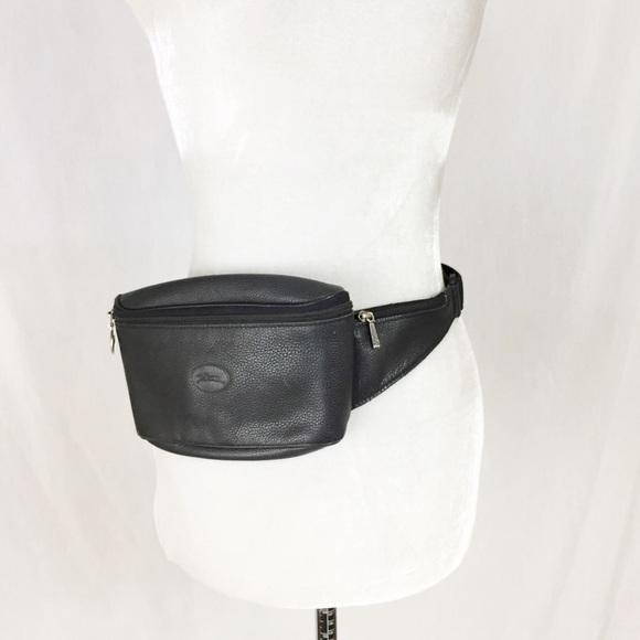 Longchamp Le Foulonne belt bag Leather